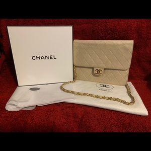 CHANEL Bags - Classic Flap Quilted Lambskin & 6Key Holder Wallet